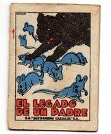 Librito Pequeño  De El Legado De Un Padre. - Libros Infantiles Y Juveniles