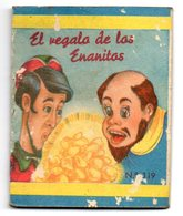 Librito Pequeño  De El Regalo De Las Enanitas. - Children's