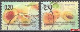 Bosnia Srpska -Fruits 2018 Used Set - Bosnie-Herzegovine