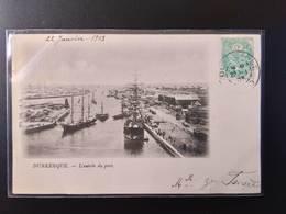 CPA (59) DUNKERQUE. L'entrée Du Port.        (G Bis 562) - Dunkerque