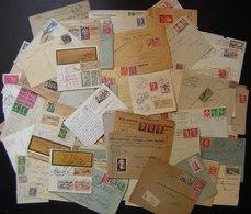 Plus De 350 Lettres Période 1920 1960 + Années 60 Et Oblitérations Mécaniques Voir Description Et Photos - France