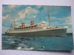 M84 Ansichtkaart S.s. Nieuw Amsterdam (Holland Amerika Lijn) - Postkaarten