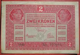 2 Kronen 1.3.1917 (WPM 21) - Austria