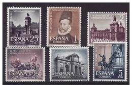 **1388/1393 CAPITALIDAD DE MADRID (1961) SERIE COMPLETA NUEVA SIN CHARNELA - OFERTA POR LIQUIDACION - 1961-70 Nuevos & Fijasellos