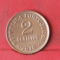 PORTUGAL 2 CENTAVOS 1918 -    KM# 568 - (Nº29432) - Portogallo