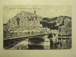 31688 - DINANT - LA CITADELLE ET L'EGLISE NOTRE-DAME3 - ZIE 2 FOTO'S - Dinant