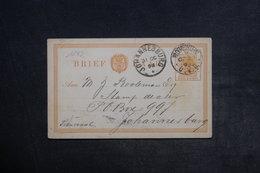 AFRIQUE DU SUD - Entier Postal De Johannesburg En 1893 - L 33284 - África Del Sur (...-1961)