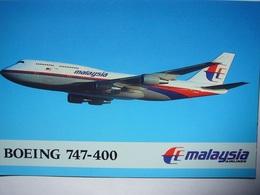 Avion / Airplane / Malaysia / Boeing B747-400 / Airline Issue - 1946-....: Era Moderna