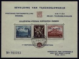 BELGIE / CSSR - 1945 - Ten Voordele Van Lidice (Bratislava Blok) Vlaamse Tekst - OBP Nr 51** - Czechoslovakia
