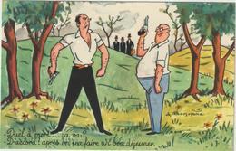 Humour : Chasse -  Duel    Illustateur  Bonnone - Humor