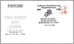CALIFORNIA GOLD DISCOVERY - GOLD NUGGET DAYS - ORO. Paradise CA 1998 - Minerales