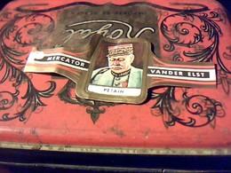BAGUE DE CIGARE Marque Mercator Vander Lest Genre De Bague Collection Généraux Des Armées Alliees 1914/18   Petain No 23 - Bagues De Cigares