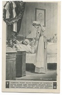 Blessé Allemand Et Infirmière  - WWI - Guerra 1914-18