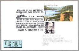 50 Aniversario DESEMBARCOS WWII - World War II 50th Anniv. Landing Ships. Orlando FL 1993 - WW2 (II Guerra Mundial)