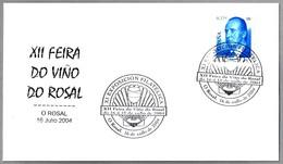 FEIRA DO VINO DO ROSAL - WINE FAIR. Concha - Shell. O Rosal, Galicia, 2004 - Vinos Y Alcoholes