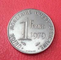 1 FRANC UNION MONETAIRE AFRIQUE DE L'OUEST  1979 SUPERBE PIECE   N°252 D - Monedas