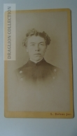 D164593 CDV Cabinet Photo -L.Bolzau -LEMGO WARBURG - Ca 1870-80 - Young Man - Fotos