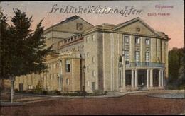 Cp Stralsund In Mecklenburg Vorpommern, Stadttheater - Deutschland