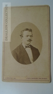 D164595 CDV Cabinet Photo -L. Bolzau -LEMGO-WARBURG    - Ca 1870-80 - Young Man -Fashion Costume - Fotos