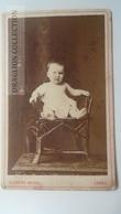 D164596 CDV Cabinet Photo -Clemens Bolzau -LEMGO    - Ca 1870-80 - Child - Fotos