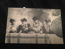 Ancienne Carte Postale - Gare à La Fève ! - Europe