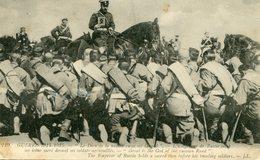 L' EMPEREUR De RUSSIE NICOLAS 1 Er Devant Ses SOLDATS AGENOUILLES - - Familles Royales
