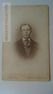D164598 CDV Cabinet Photo - L. Bolzau -LEMGO -Warburg    - Ca 1870-80 - Young Man  Costume Fashion - Fotos