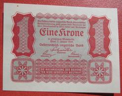 1 Krone 2.1.1922 (WPM 73) - Austria