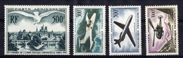 France Poste Aérienne YT N° 20 Et N° 35/37 Neufs ** MNH. TB. A Saisir! - Luftpost