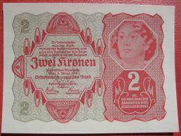 2 Kronen 2.1.1922 (WPM 74) - Austria