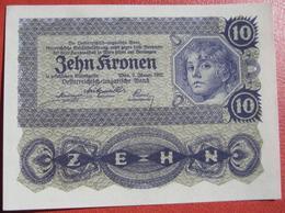 10 Kronen 2.1.1922 (WPM 75) - Austria