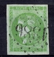 France Bordeaux YT N° 40 Oblitéré. Filets Intacts. A Saisir! - 1870 Ausgabe Bordeaux