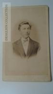 D164601  CDV Cabinet Photo -  Th. Kliem, Detmold     - Ca 1870-80 - Young Man   Costume Fashion - Fotos