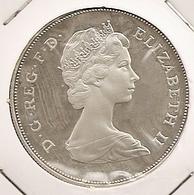 Great Britain UK  INGLATERRA GRANDE BRETAGNE 25 New Pence .925 Silver Proof KM#925a Diana Royal Wedding  DIFFICILE 115 - 1971-… : Monedas Decimales