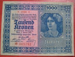 1000 Kronen 2.1.1922 (WPM 78) - Austria