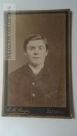 D164606 CDV Cabinet Photo -E.R. Raspe,  Detmold     - Ca 1890-1900 - Man's Portrait   Costume Fashion - Fotos