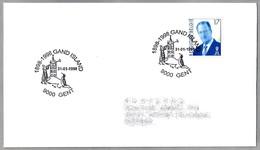 100 Años Descubrimiento GAND ISLAND - ANTARTIDA. Gent 1998 - Events & Commemorations