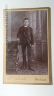 D164608 CDV Cabinet Photo -Felix Schaetzke, Bochum    - Ca 1890-1900 - Child -  Costume Fashion - Fotos