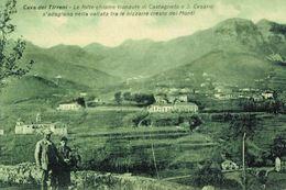 Cava Dei Tirreni, Salerno, Campania, Religioso, Santa Maria Della Purificazione, Marcofilia, Annullo Postale - Cava De' Tirreni