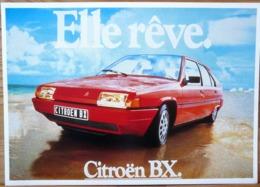 AFFICHE PUBLICITE CITROEN BX ELLE REVE - Automobiles