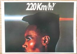 AFFICHE  PUBLICITE CITROEN 220 KM/H? GRACE JONES - Automobiles