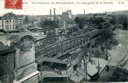 N°73487 -cpa Paris- Vue Générale Du Métropolitain - - Métro