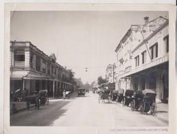 Tonkin Ville Hanoi  La Rue Paul Bert  INDO CHINE ASIA   24*18 CM Fonds Victor FORBIN 1864-1947 - Lieux