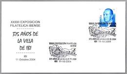 375 Años De LA VILLA DE IBI. Ibi, Alicante, 2004 - Otros