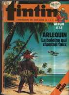 JOURNAL TINTIN ALBUM RECUEIL  45  BE LOMBARD  04/1978 (BI1) - Tintin