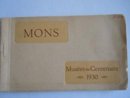 Mons Musées Du Centenaire 1930 Carnet De 9 Cartes (au-lieu De 12) Cartes-vues - Mons
