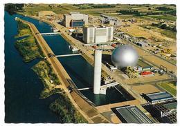 Cpsm: 37 AVOINE (ar. Chinon) La Centrale Nucléaire - Vue Aérienne - Pilote Et Opérateur R. Henrard  N° 11.204 - Autres Communes