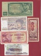Pays Du Monde 40 Billets Dans L 'état Lot N °6 - Kilowaar - Bankbiljetten