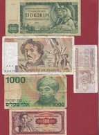 Pays Du Monde 40 Billets Dans L 'état Lot N °7 - Kilowaar - Bankbiljetten