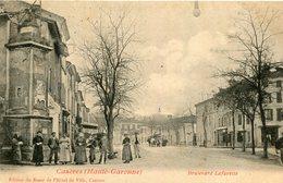 CAZERES - Boulevard Lafayette Attelage De Boeufs - France